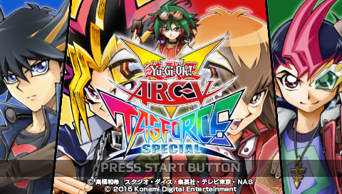 Yu-Gi-Oh! ARC-V: Tag Force Special ULTIMATE ISO
